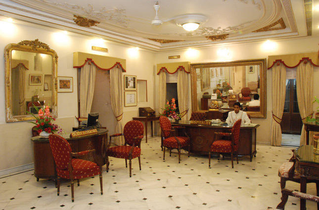 Reception in Hotel Fateh Prakesh Palace