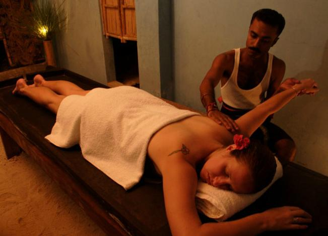Spa in Wild Orchid, Havelock Island