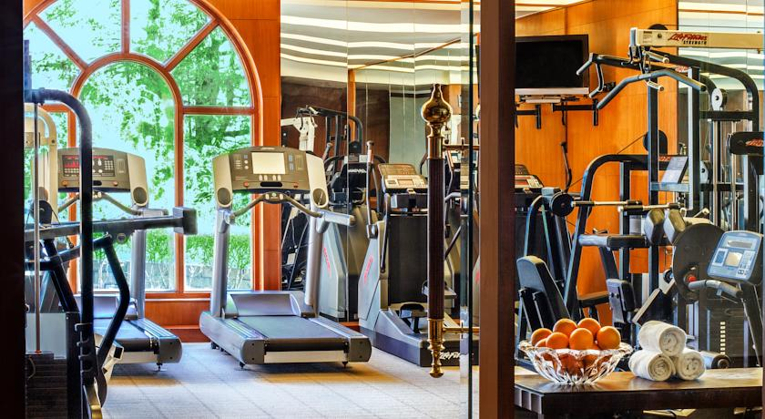 Gym in Wildflower Hall Mashobra