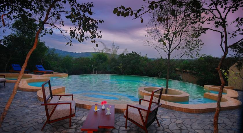 Swimming Pool in Windflower Resort And Spa Bandipur