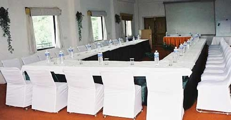 Meeting in Woodsvilla Resort, Ranikhet