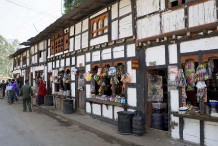 village of wangdue phodrang, bhutan