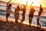 beach dancing moment goa