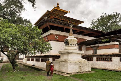 Kichu Lhakang temple in Paro