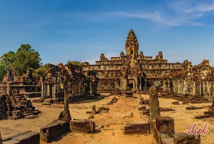 Bakong Hindu temple in Cambodia