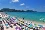 Patong beach town