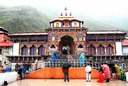 Darshan at BadrinathTemple