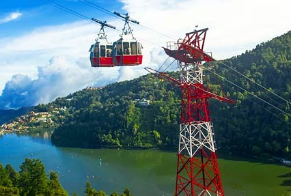 cable ride at Nainital
