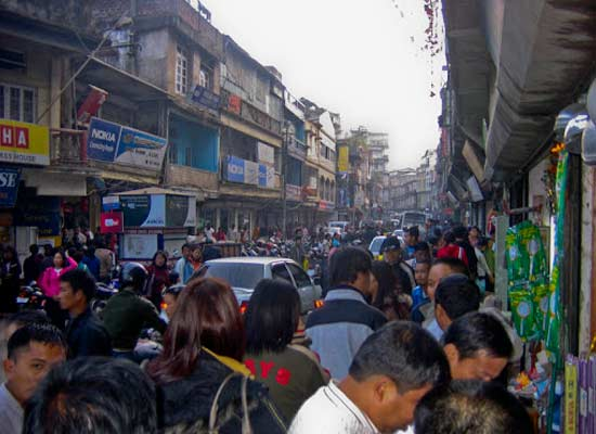Aizawl City Markets