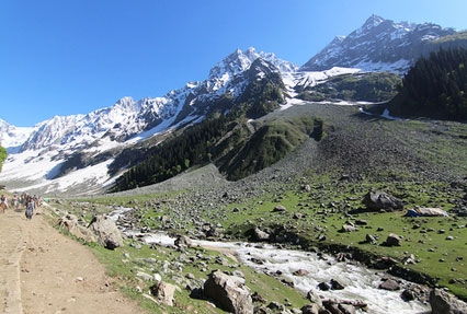 Thajiwas Glacier Sonamarg