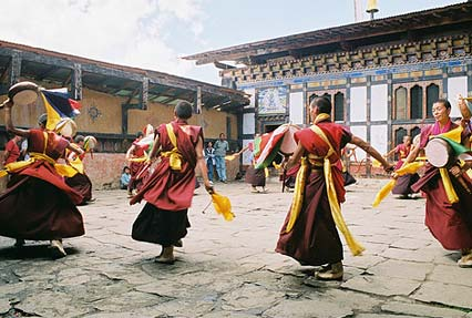 Kurjey Lhakhang Temple in Bhutan