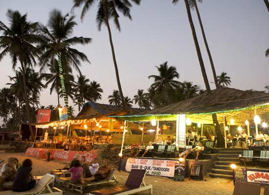 Beach Huts in Goa