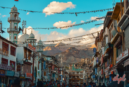 Local Bazaars of Leh
