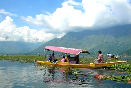 Shikara Ride in Srinagar