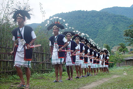 Adi Tribal Village, Arunachal Pradesh