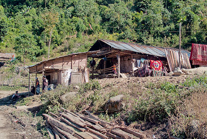 Adi Tribal Village, Arunachal