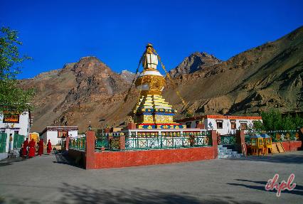 Ki Monastery, Kaza