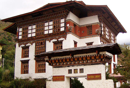 thimphu national library