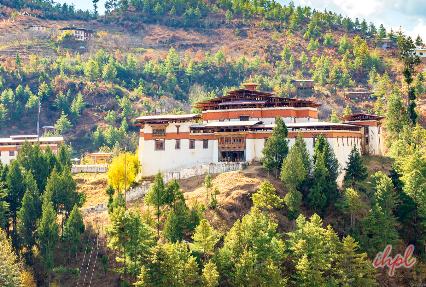 Simtokha Dzong Monastery in Bhutan