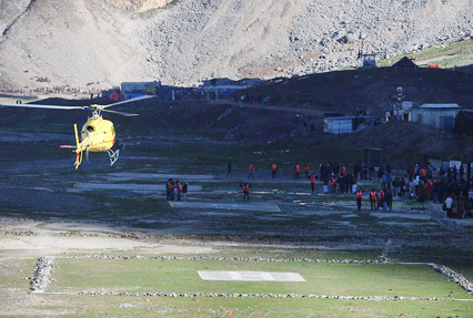Amarnath helicopter yatra from balta