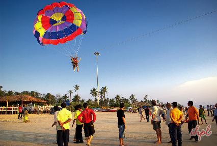 Beach Activities at Goa Beaches