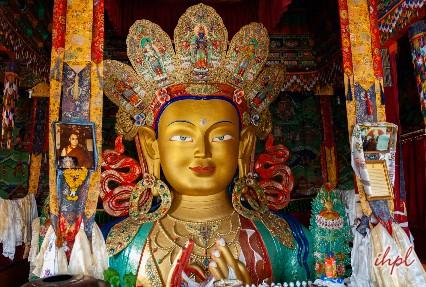 Maitreya Buddha Statue Leh