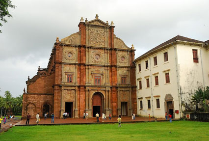 Basilica of Bomb Jesus Church Goa