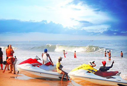 Water Activities in Goa