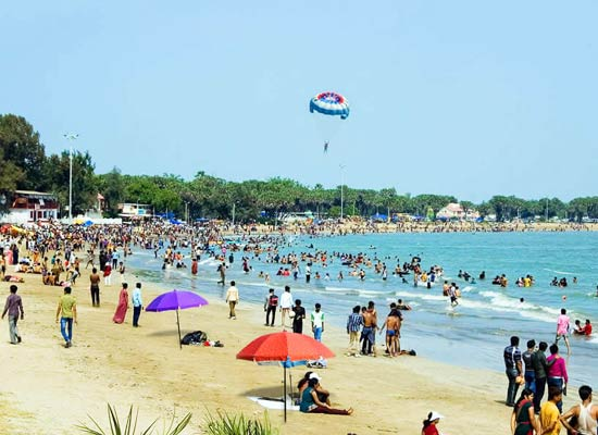 Goa beaches- Anjuna