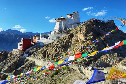 Spituk monastery Leh