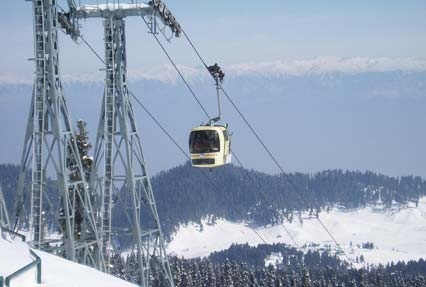 Gondola Ride, Gulmarg