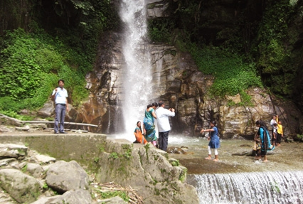 Waterfall in sikkim