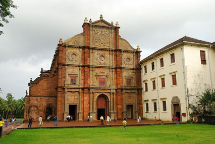 Basilica of Bom Jesus Church Goa