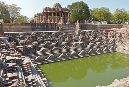 Sun Temple Historical landmark in Modhera