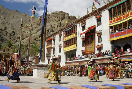 Hemis Monastery in Leh Ladakh