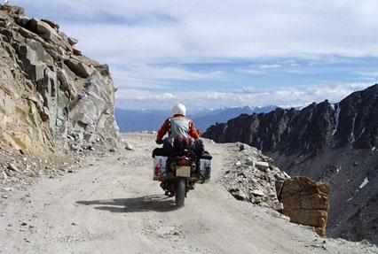 Khardung La Pas in Leh Ladakh