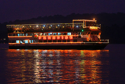 Mandovi River in Goa