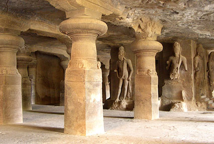 Elephanta Caves in Maharashtra