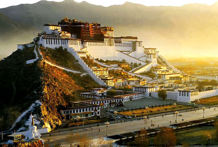 Jokhang Temple in Lhasa