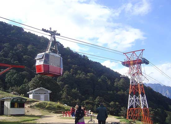 Cable Car Ride at Auli