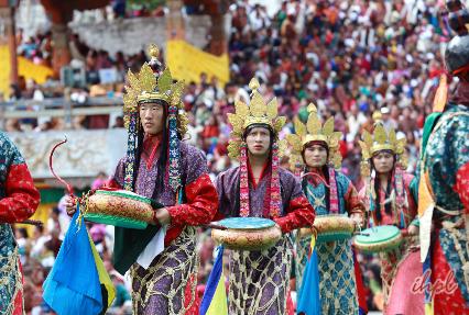 Paro National Museum Drukgyel Dzong
