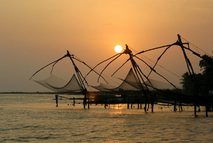Chinese Fishing Nets, Kerala