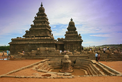Shore Temple South India