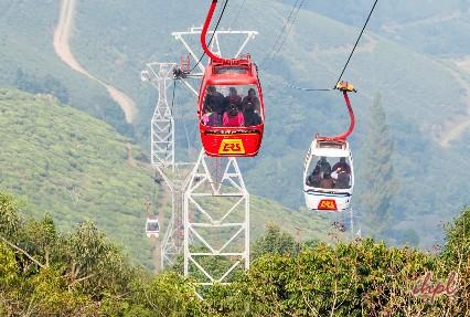 Cable ride in Darjeeling