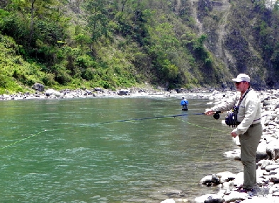 fishing in sikkim