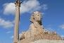 Pompeys Pillar Alexandria Egypt