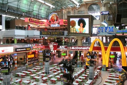 Canal Walk Shopping mall in Cape Town, South Africa