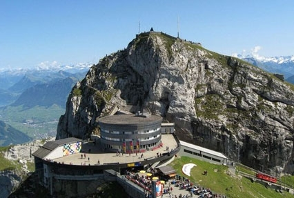 Pilatus Mountain in Switzerland