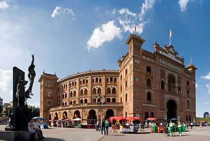 Las Ventas Bullring in Madrid, Spain