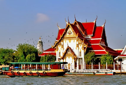 tample in bangkok